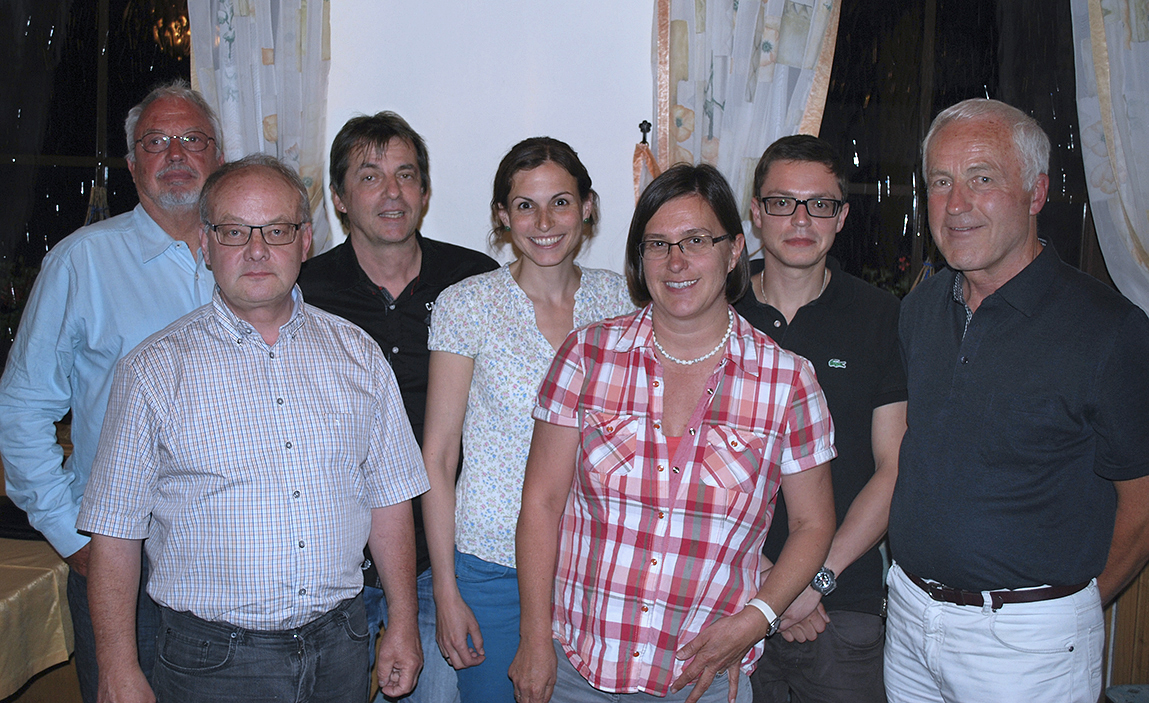 Vorstandschaft Juni 2014