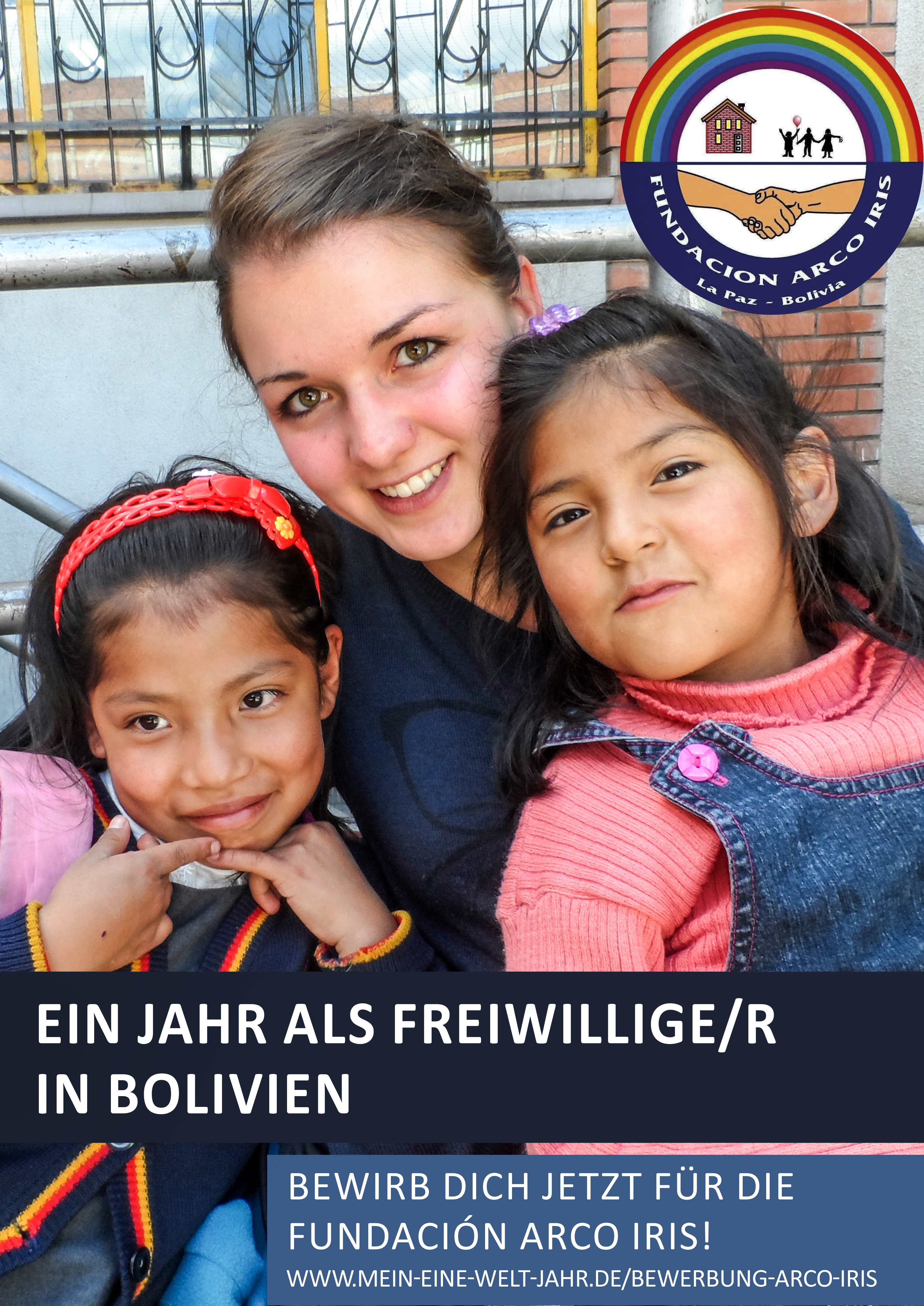 Freiwillige bei der Fundación Arco Iris