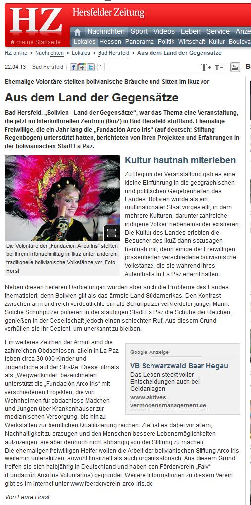 Faiv_Presseartikel BadHersfeld