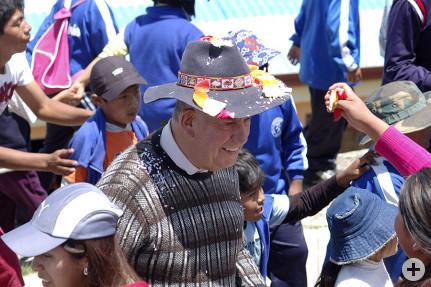 Padre José am 75. Geburtstag